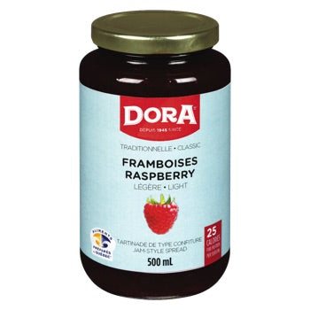 Dora Raspberry Light  Jam		500mL