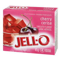 Jello Cherry Jelly Powder 85Gr.