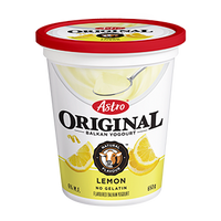 Astro Indulgent Yogurt, Lemon 650g