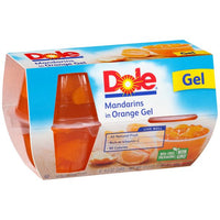 Dole Mandarine Orange Gel 4 Pk