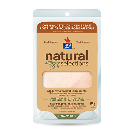 ML NAT SEL OVEN ROASTED CHICKEN BREAST 175 G