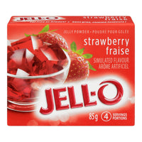 Jello Strawberry Jelly Powder 85Gr.
