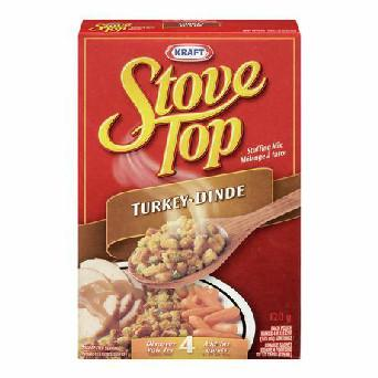 Kraft Stove Top Turkey Stuffing Mix 120g