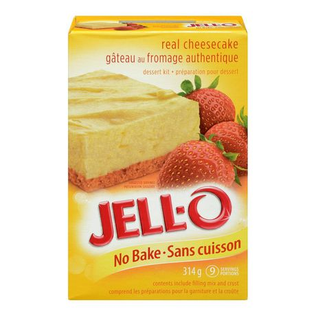 Jell-O No Bake Classic Cheesecake Dessert Kit 314g