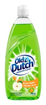 OLD DUTCH GREEN APPLE DISHWASHING LIQUID 740 ML