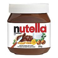 Nutella Hazelnut Spread	375g