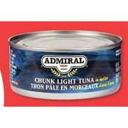 ADMIRAL CHUNK LIGHT TUNA 170 G