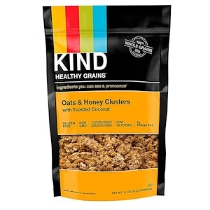 KIND Healthy Grains Oats & Honey Clusters with Toasted Coconut 312g
