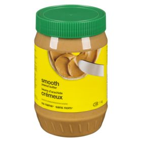 No Name Smooth Peanut Butter 1Kg