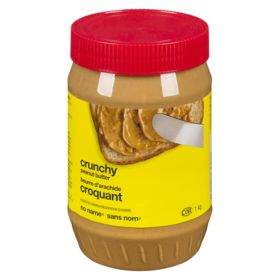 No Name Peanut Butter, Crunchy 1 kg