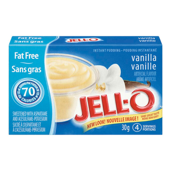 Jello Fat Free Vanilla 30 G