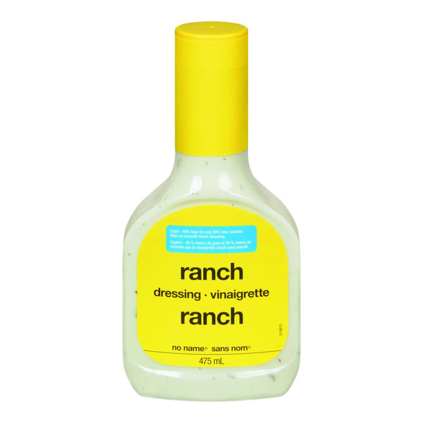 No Name Ranch Lite Salad Dressing 475 ML