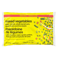 No Name Frozen Mixed Vegetables Club Size 2Kg