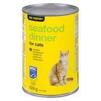 No Name Seafood Dinner For Cats 624 G
