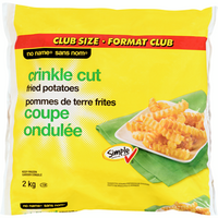 No Name Crinkle Cut Fried Potato 2Kg
