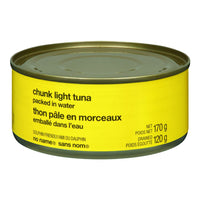 No Name Chunk Light Tuna In Water 170 G