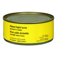 No Name Flaked Light Tuna In Water 170 G