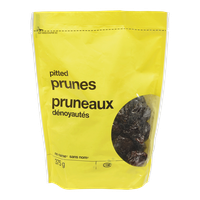 No Name  Pitted Prunes 375 G