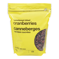 No Name Dried Cranberries 750 G