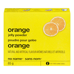 No Name Orange  Jello Powder 85 G