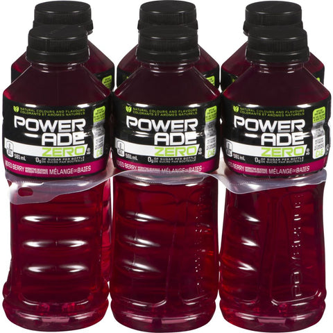POWERADE ZERO  MIXED BERRY	6X591ML