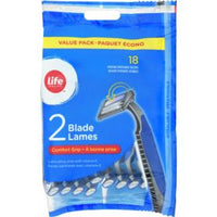 Life Brand Comfort Grip  Razor For Men	18pk