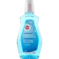 Life Brand Mouthwash Fresh Mint	1L