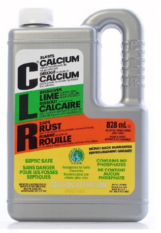 CLR CALCIUM RUST AND LIME REMOVER 828 ML