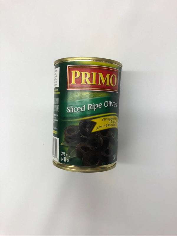 Primo Sliced Ripe Olives 14 Oz