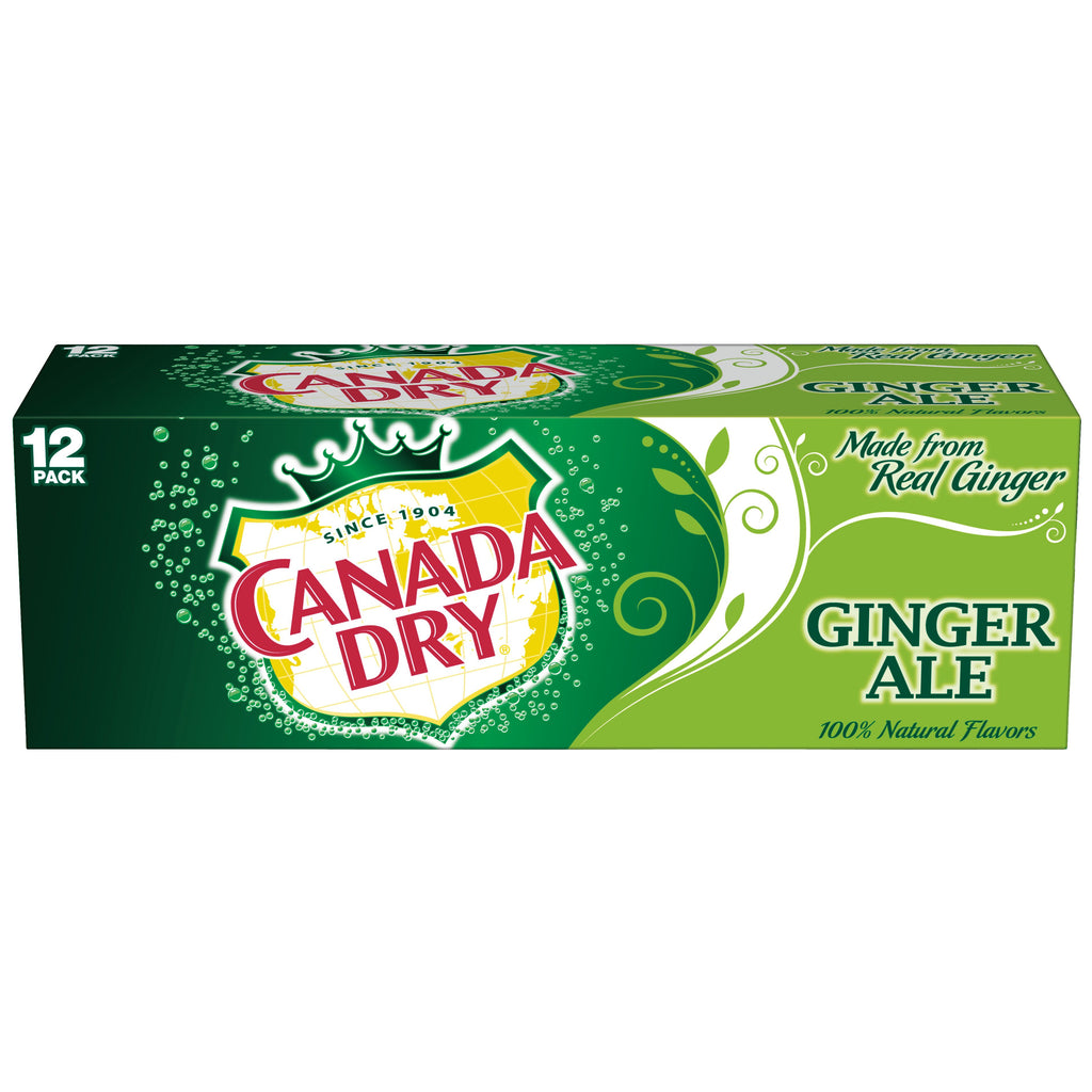 CANADA DRY GINGERALE 12 PK