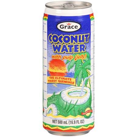 Grace Coconut Water W/Pulp	500 Ml