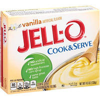 Jello Vanilla Cooked Pudding/P 135 Gr