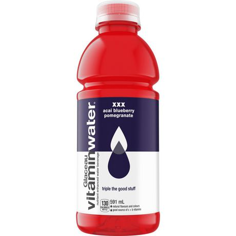 GLACEAU ACAI BLUE POMEGRANATE VITAMIN WATER	591 ML