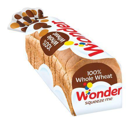 WONDER 100% WHOLE WHEAT BREAD 675 G