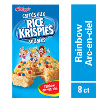 Kellogg'S Rice Krisipes Squares Bars Rainbow 176G, 8 Bars