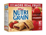 Kellogg's Nutri-Grain Cereal Bars, Strawberry 295g