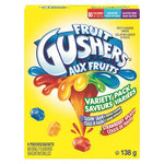 Fruit Gushers By Betty Crocker Gluten Free Variety Pack 6 Pouches,138 G