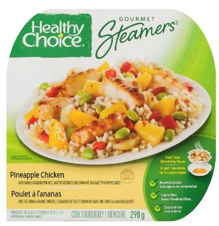 Healthy Choice Gourmet Steamers Healthy Choice® Pineapple Chicken Frozen Dinner 298 g