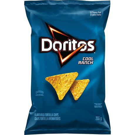 Doritos Cool Ranch Tortilla Chips 255GM