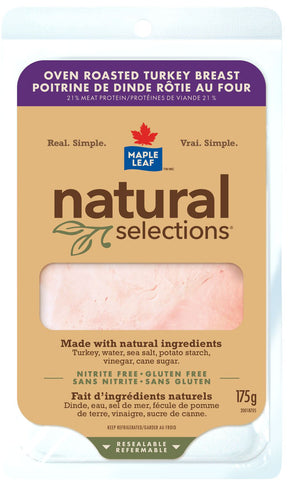 ML NAT SEL OVEN ROASTED TURKEY BREAST 175 G