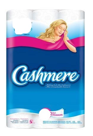 Cashmere Double Roll Bathroom Tissues 30 Rolls