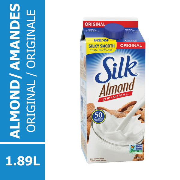 Silk True Almond Milk Original 1.89 Lt