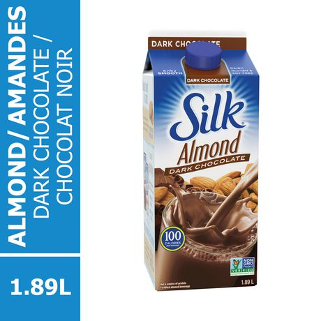 SILK TRUE ALMOND DARK CHOCLATE BEVERAGE 1.89 LT