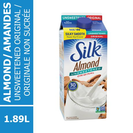 SILK TRUE ALMOND UNSWEETENED 1.89 LT