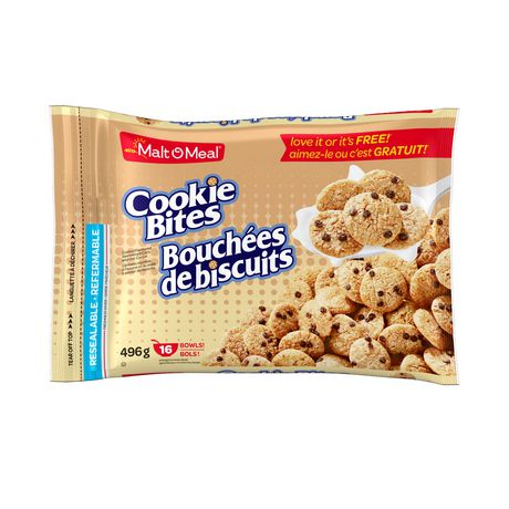 Malt-O-Meal Cookie Bites Cereal 468g