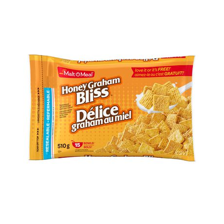 Malt-O-Meal Honey Graham Bliss Cereal 510g