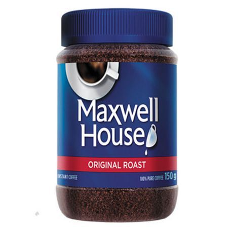Maxwell House Instant Coffee, Original Roast 150 g