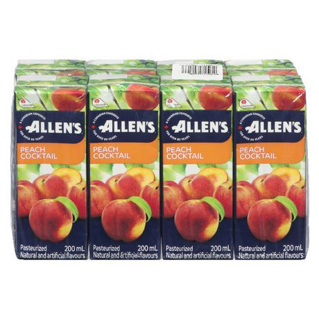 ALLENS PEACH COCKTAIL 8X200ML