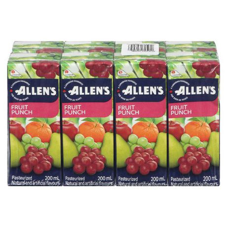 ALLENS FRUIT PUNCH 8X200ML