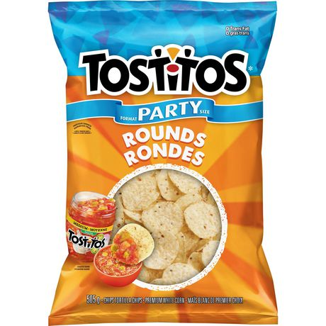 TOSTITOS SUPER BITE SIZE ROUND	505 G